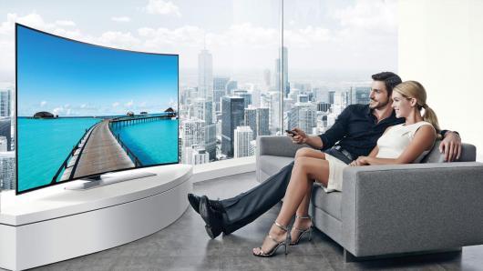 Reparatii Tv ecran curbat Sony