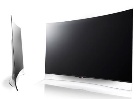 Reparatii Tv ecran curbat LG