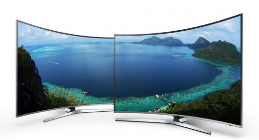 Reparatii Tv ecran curbat Samsung